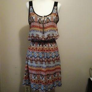 J for Justify sleeveless midi dress Size small
